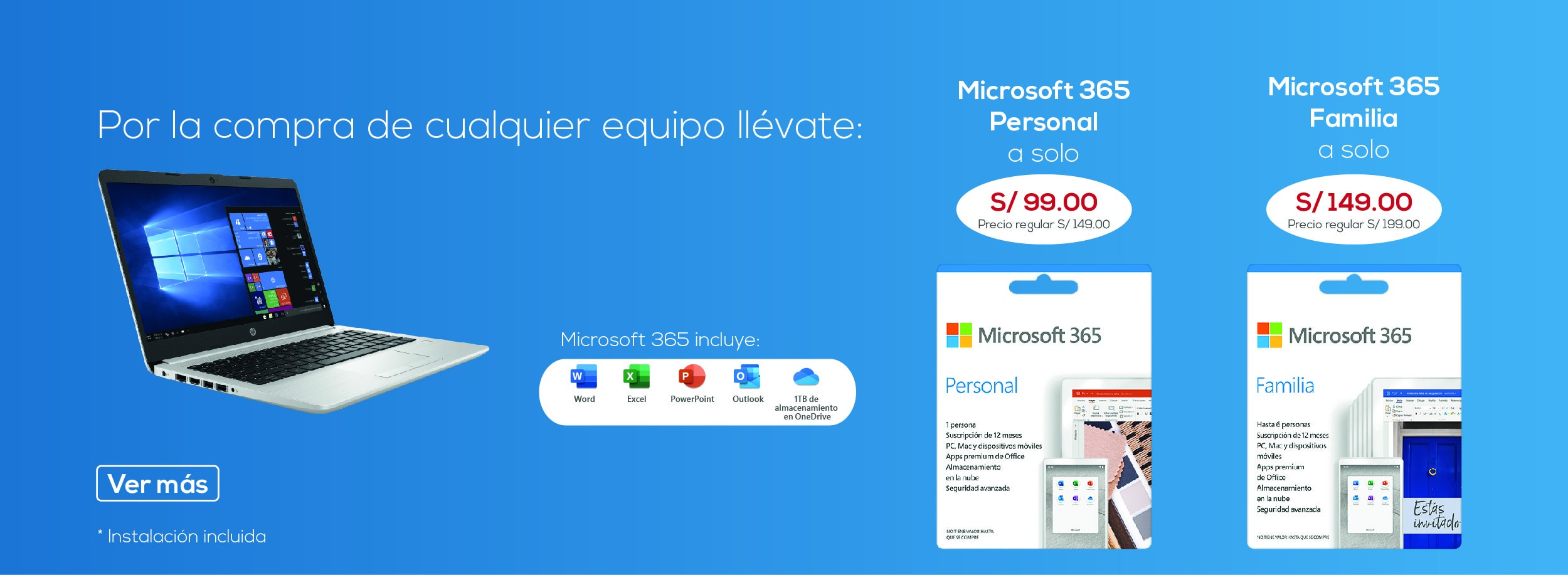 Oferta Microsoft 365